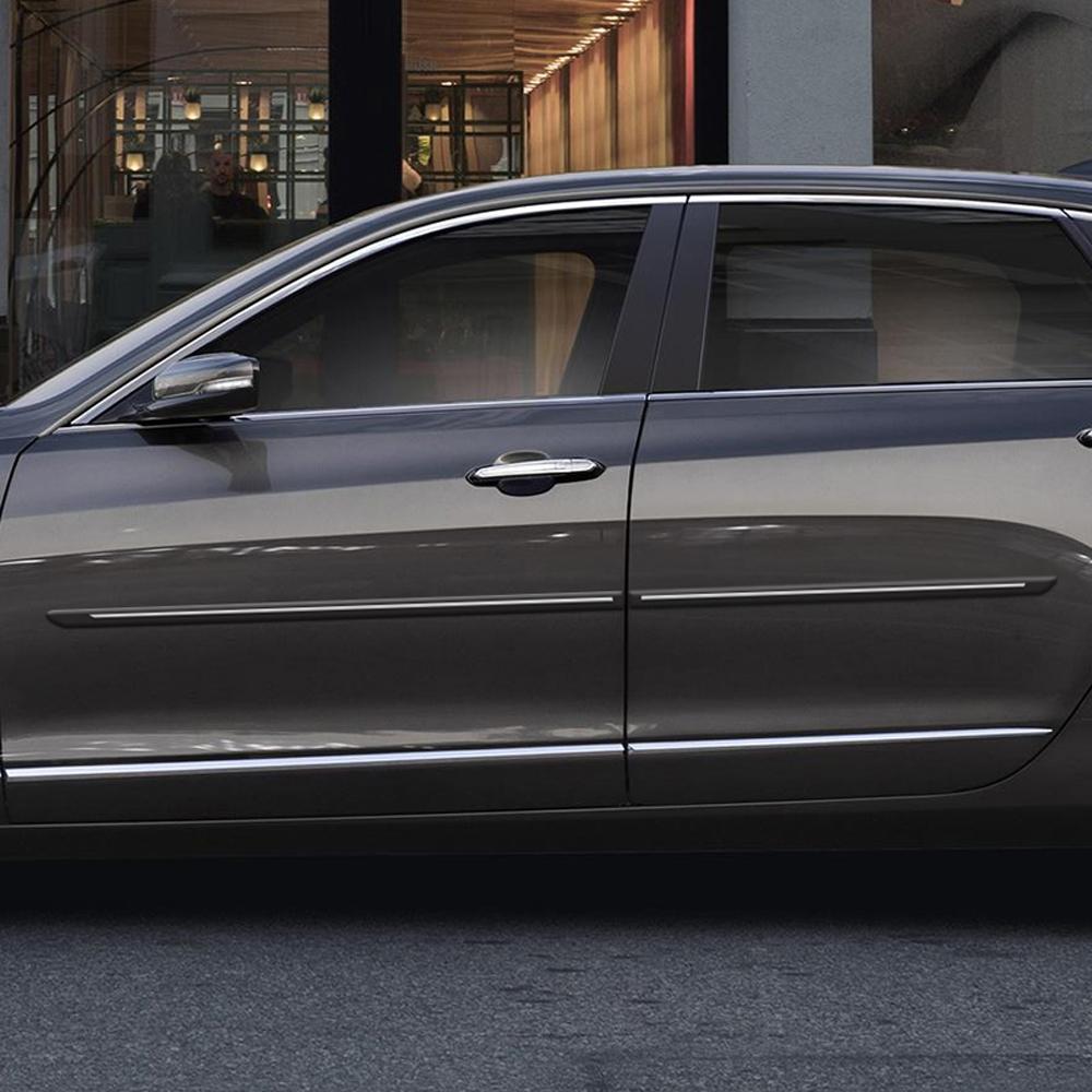 Cadillac CT6 ChromeLine Painted Body Side Molding 2016