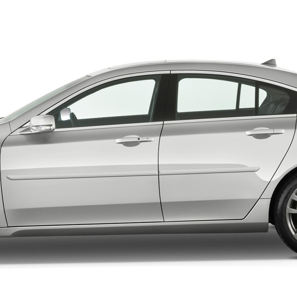 Acura TL Painted Body Side Molding 2010