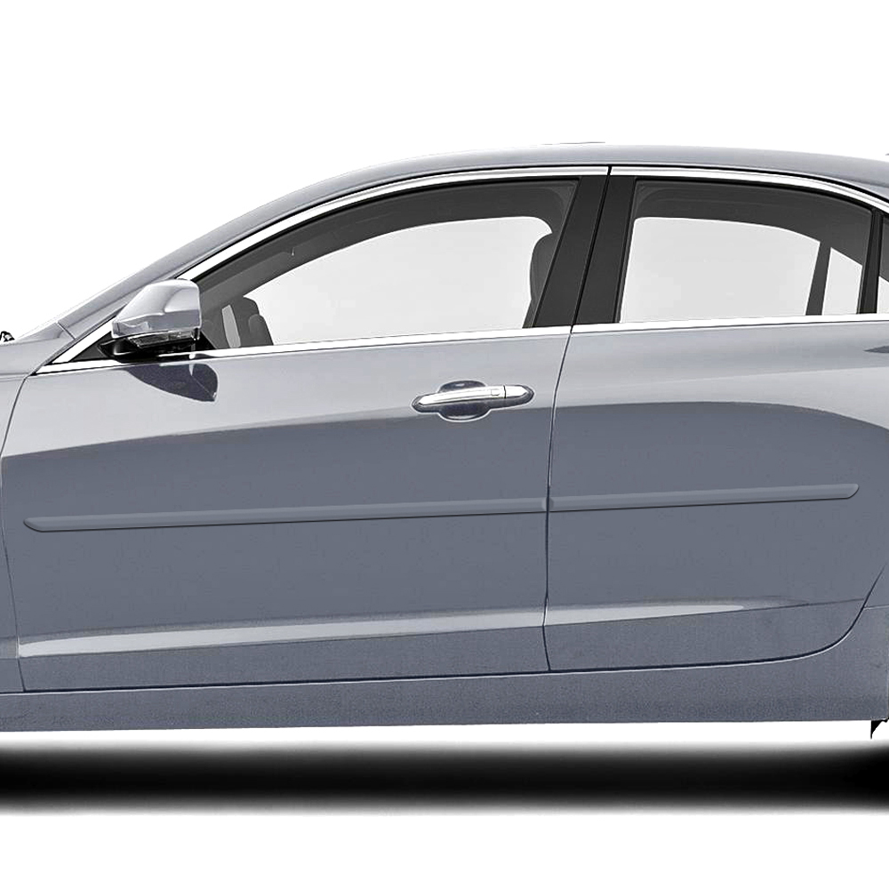 Cadillac ATS 4 Door Painted Body Side Molding 2013