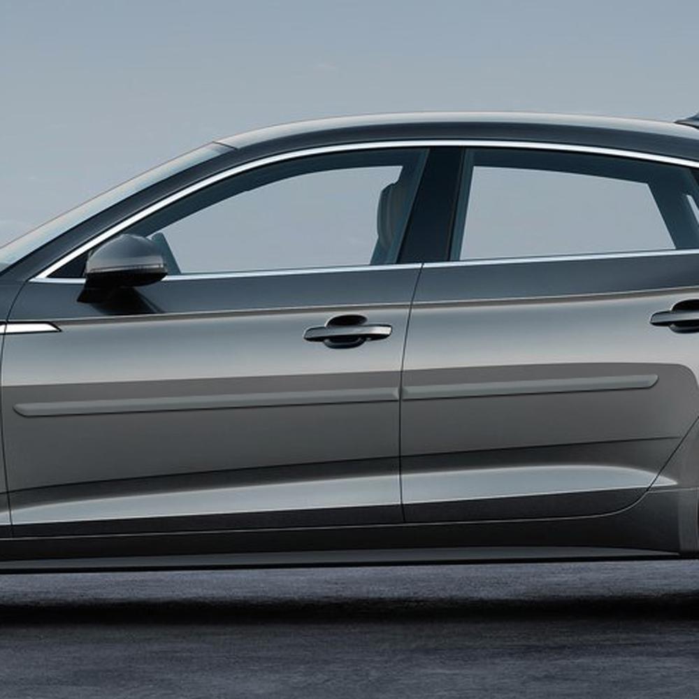 Audi S5 Sportback 4 Door Painted Body Side Molding 2017
