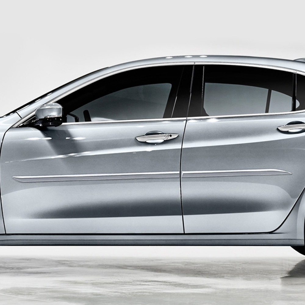 Acura TLX Painted Body Side Molding 2015