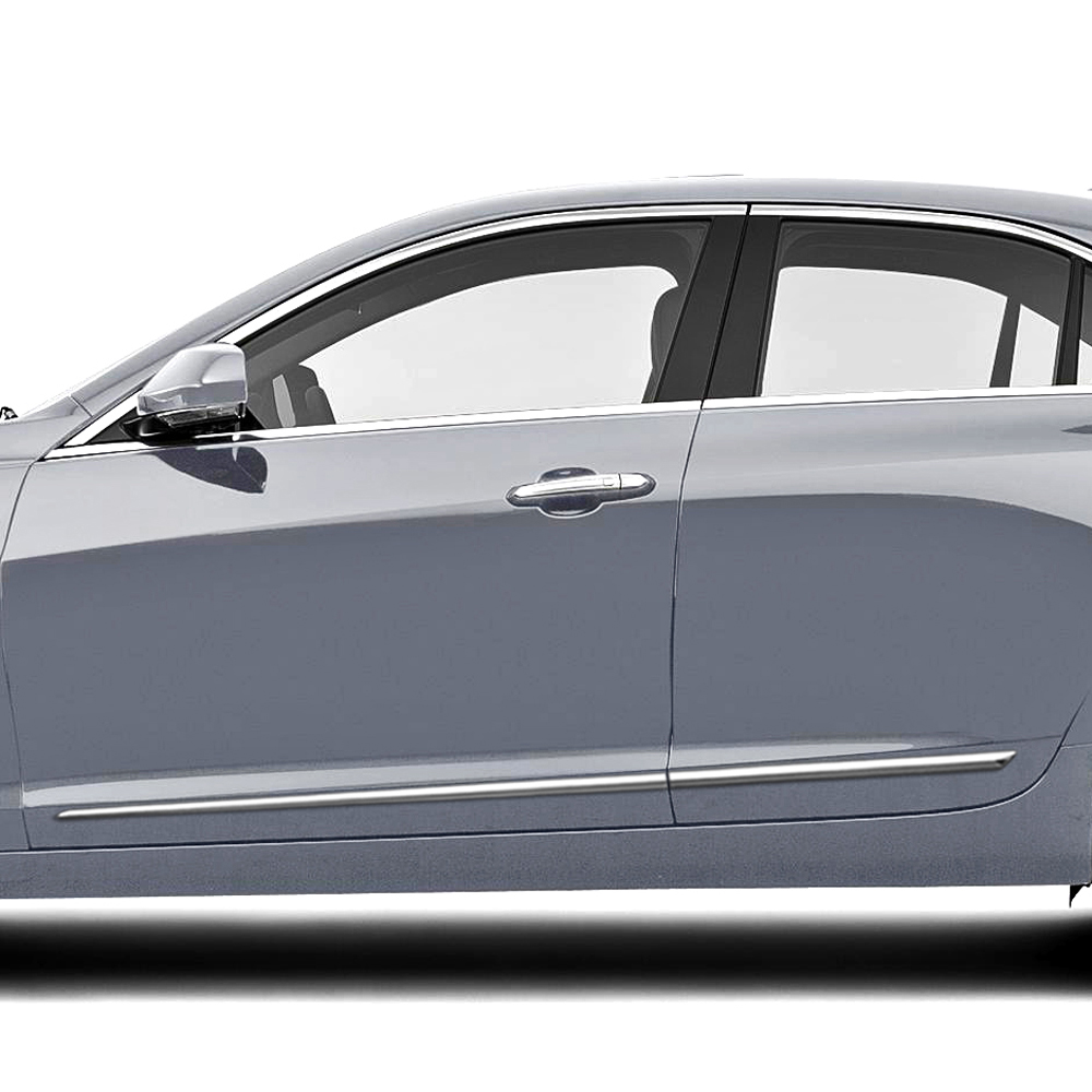 Cadillac ATS Sedan Chrome Body Side Molding 2013