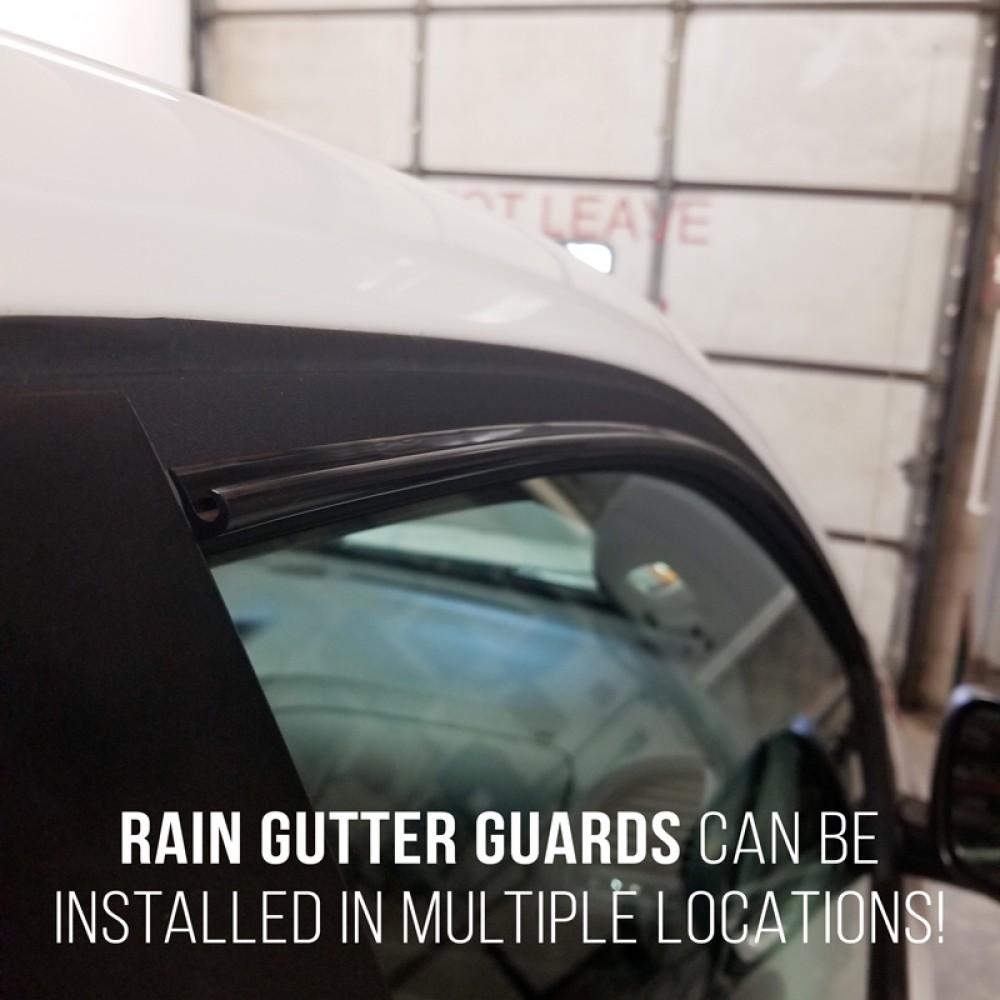 Dawn Enterprises DW20G-KT Universal Drip Rail Rain Gutter Guards White 15