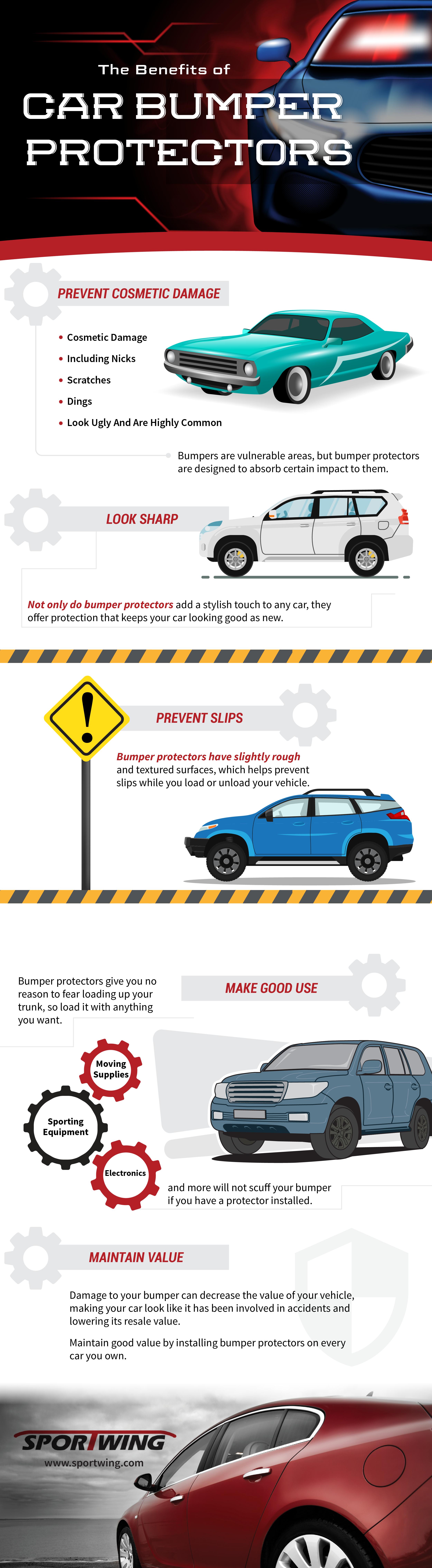The Benefits Of Car Bumper Protectors Infographic