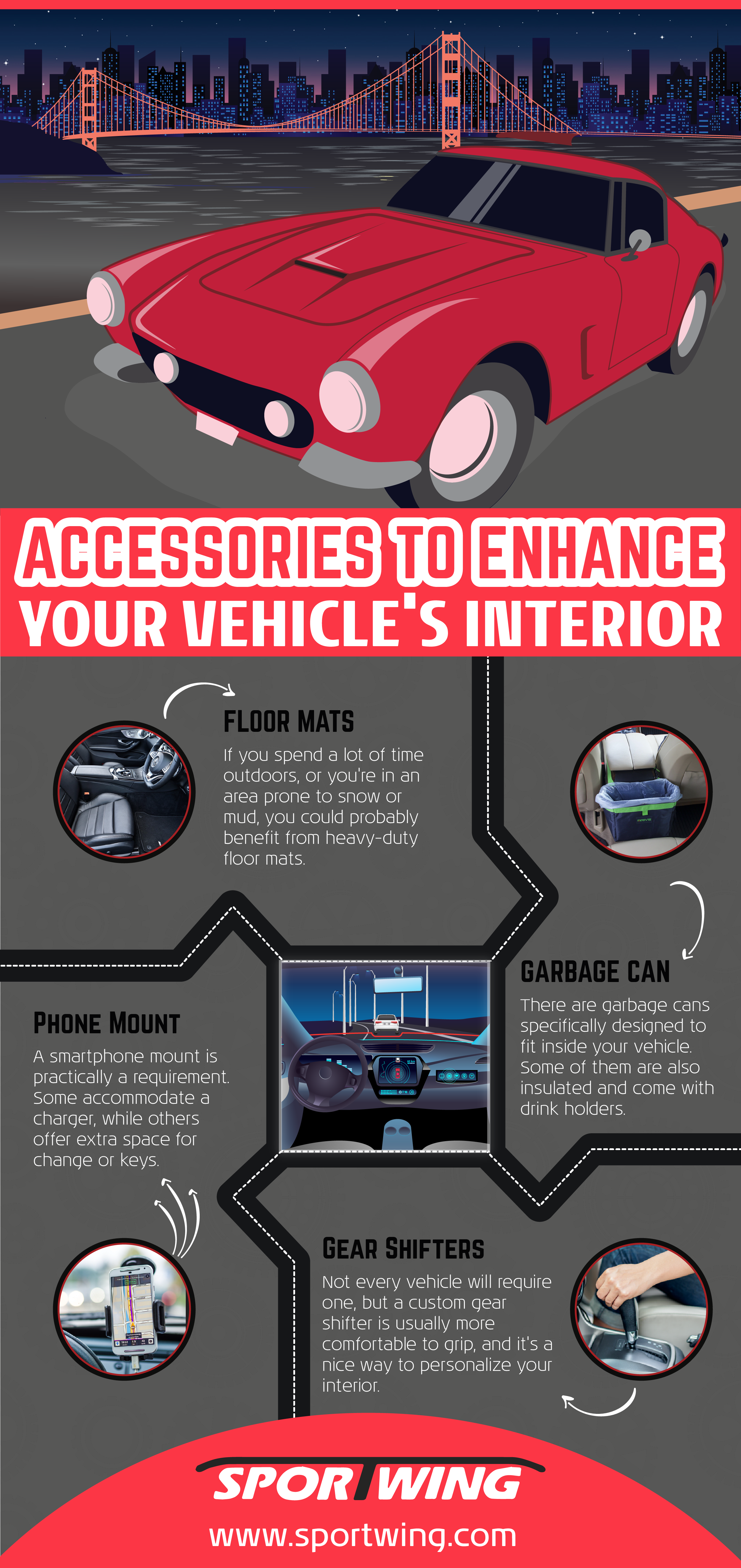 How To Enhance Your Interior With Accessories Infographic