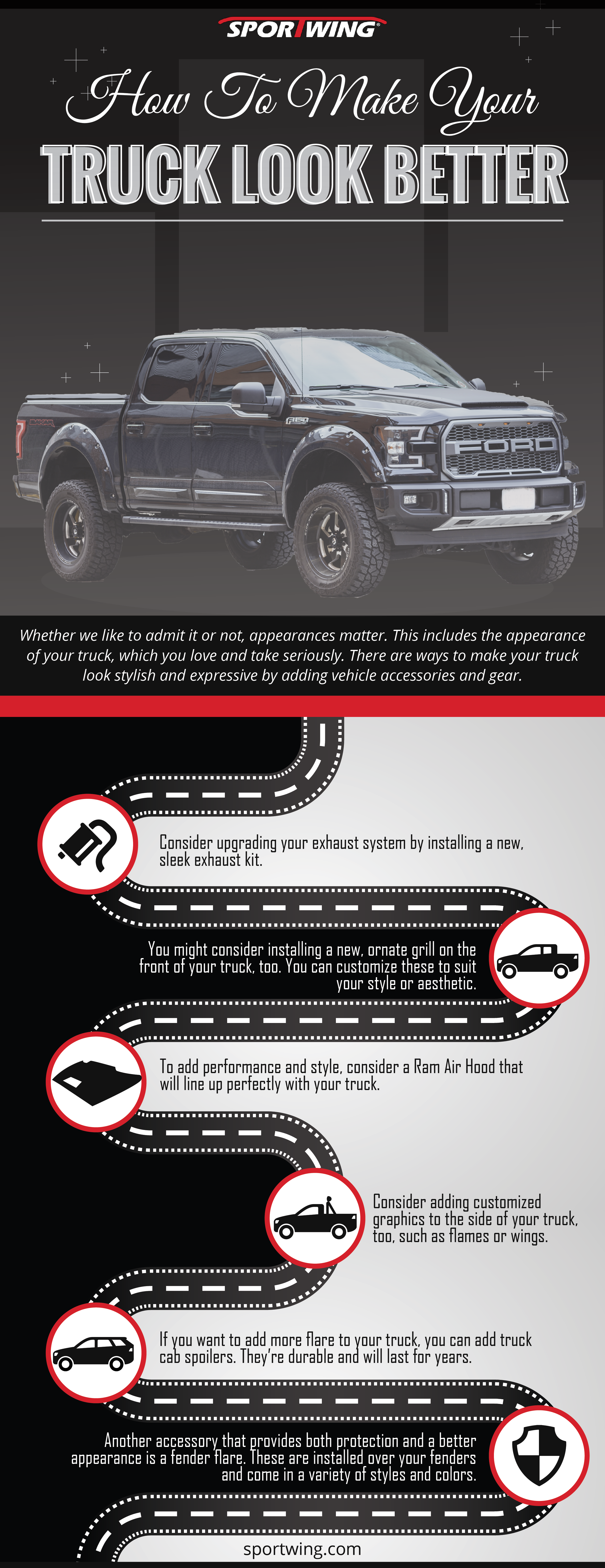 How To Make Your Truck Look Better Infographic