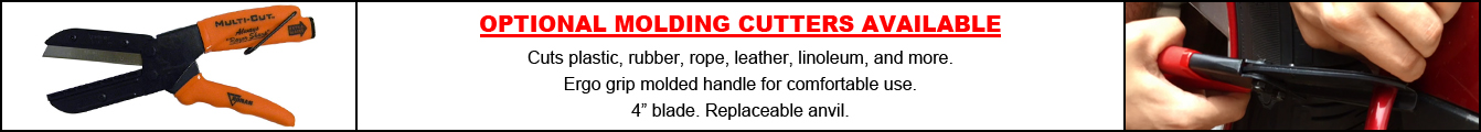 Additional Molding Cutters Promotion